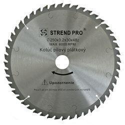 Kotuc SuperSaw NWP 250x3,2x30 z40, na drevo, pílový, s plátkami