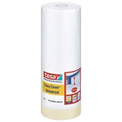 Folia tesa® Pro Easy Cover® Universal, s páskou, 2600 mm, L-17 m, transparentná