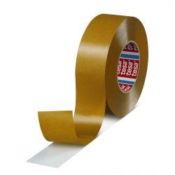 Paska tesa® PRO tesafix®, obojstranná, fóliová, transparent, 30 mm, L-50 m