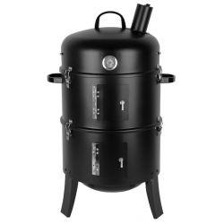 Gril BBQ Smoker, 3v1 grilovanie, udenie, opekanie, 44x78 cm