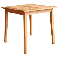 Stol LEQ KYNDBY, 75x73 cm, drevený