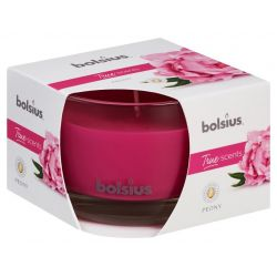 Sviecka bolsius Jar True Scents 63/90 mm, pivónia