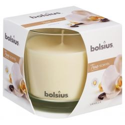 Sviecka bolsius Jar True Scents 95/95 mm, vanilka