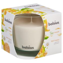 Sviecka bolsius Jar True Moods 95/95 mm, feel happy (mango a bergamot)
