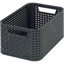 Košík Curver® STYLE2 S, antracit, 28x12x19 cm