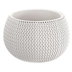 Kvetinac SPLOFY Bowl 290x195 mm, biely