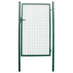 Brana METALTEC ECO 1000x1200 mm, záhradná, zelená, ZN+PVC