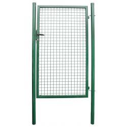 Brana METALTEC ECO 1000x1600 mm, záhradná, zelená, ZN+PVC