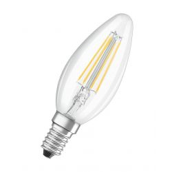 Ziarovka OSRAM® LED FIL 040 (ean8637) non-dim, 4W/827 E14 2700K Value CLASSIC B