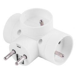 Rozvodka Strend Pro, 230 V, IP20, max. 3680 W, 3x16A