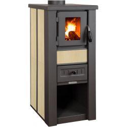 Kachle Pro LAVA Ceramic, béžové, 6 kW, 120 mm