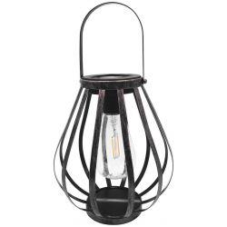 Lampa Solar Hadar, 180x210 mm, 2 Edison LED, AA