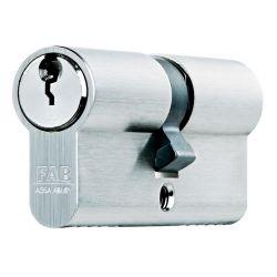 Vložka cylindrická FAB 200RSBDNm/45+45 , 3 kľúče, stavebná