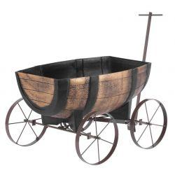 Kvetinac GDA Woodeff 817, whiskey barel wagon, 41,5x29x19cm