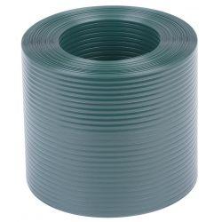 Páska EUROSTANDARD PVC 19 cm, tieniaca, zelená, krycia, k plotovým panelom, bal. 26 m, RAL6005