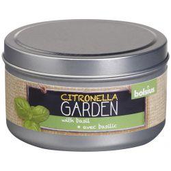 Sviecka bolsius Jar Citronella, bazalka