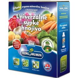 Hnojivo Rokohumin Univerzálne sypké hnojivo, 1 kg