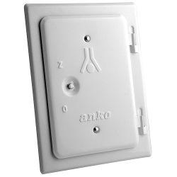 Dvierka Anko C2.1W 120x180 mm, komínové, biele