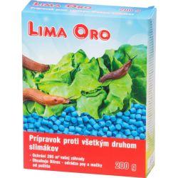 Chemia Lima Oro 200 g, proti všetkým druhom slimákov, Bitrex