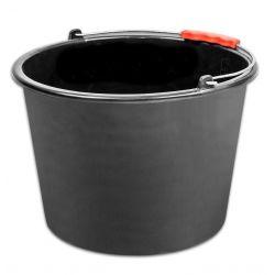 Vedro ReCycled® 12 lit, stavebné, plast, plastový úchyt, čierne