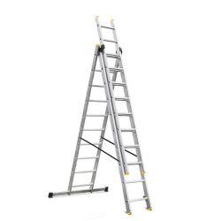 Rebrík Strend Pro DP 3x10, Alu, EN 131 max. 5.72 m, BASIC