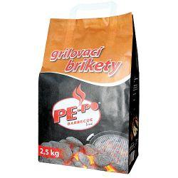 Brikety PE-PO®, 2.5 kg, na grilovanie