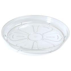 Podložka pod kvetináč COUBI PPC140, okrúhla, transparentná, 140 mm