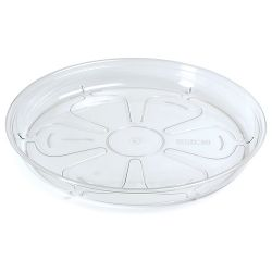 Podložka pod kvetináč COUBI PPC175, okrúhla, transparentná, 175 mm