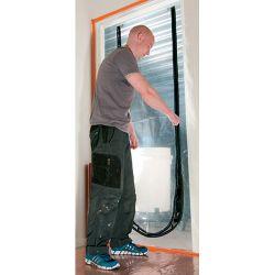 Fólia proti prachu Strend Pro, PF1201, na dvere, U-Zipper