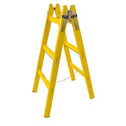 Rebrík DRD MA 6 priečkový, 196 cm, maliarsky, drevený