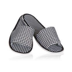 Pantofle pánské CHECKED 32 cm, mix barev