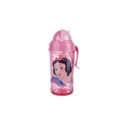 BANQUET Láhev plastová s brčkem PRINCESS 350 ml