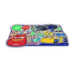 Prostírání plastové tvarované CARS L 43 x 29 cm