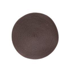 BANQUET Prostírání kulaté TONDO průměr 38 cm, hnědé