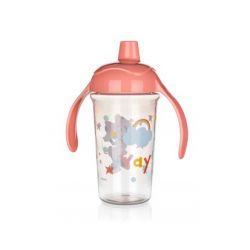 Láhev plastová pro děti MINNIE 295 ml