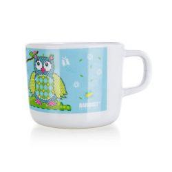 BANQUET Hrnek melaminový OWLS 8 x 6,5 cm