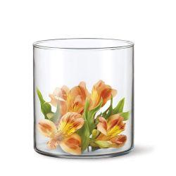 SIMAX Váza skleněná DRUM I 17 X 12 cm