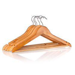 Sada dřevěných ramínek 44,5 cm, 6 ks