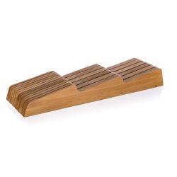 BANQUET Organizér na nože bambusový BRILLANTE Bamboo 38,5 x 10 x 5 cm