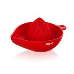 BANQUET Odšťavňovač na citrusy silikonový CULINARIA Red