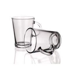 PASABAHCE Sada skleněných hrnků TRIBECA 400 ml, 2 ks, OK