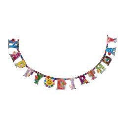 BANQUET Girlanda papírová MY PARTY Happy Birthday 2 m