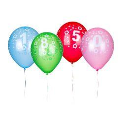 BANQUET Balónky nafukovací latexové č. 2 MY PARTY 30 cm, 5 ks