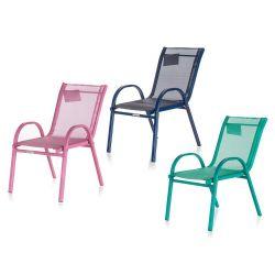 HAPPY GREEN Židle zahradní stohovatelná dětská NIKKI