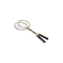 SPORTWELL Sada na badminton, 2 rakety a 2 košíčky, pouzdro, V2