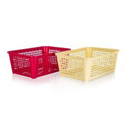 Košíček úložný  35,8x25,6cm, assort