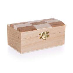 Krabička dřevěná CHESS 12 x 7 x 6 cm, obdélník