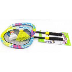 Farebný plážový badminton set 56cm