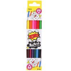 Farebné ceruzky Ergo 6ks