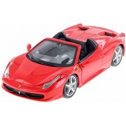 Bburago auto Ferrari 458 Spider Red 1:24